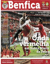 capa Jornal Benfica de 5 abril 2019