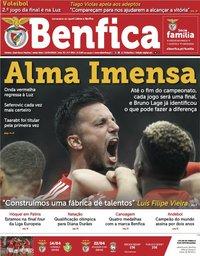 capa Jornal Benfica de 12 abril 2019