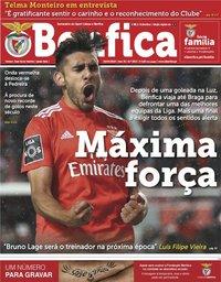 capa Jornal Benfica de 26 abril 2019