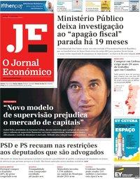 capa Jornal Económico de 5 abril 2019