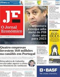 capa Jornal Económico de 12 abril 2019
