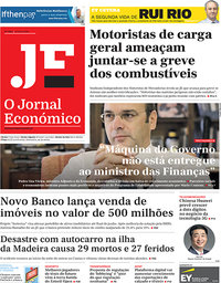capa Jornal Económico de 19 abril 2019