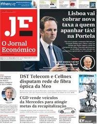 capa Jornal Económico de 26 abril 2019