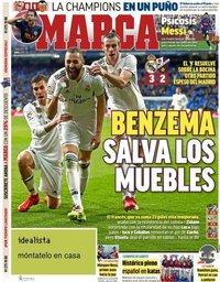 capa Jornal Marca de 1 abril 2019