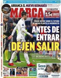 capa Jornal Marca de 2 abril 2019