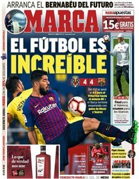 capa Jornal Marca de 3 abril 2019