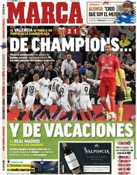 capa Jornal Marca de 4 abril 2019
