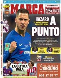 capa Jornal Marca de 6 abril 2019