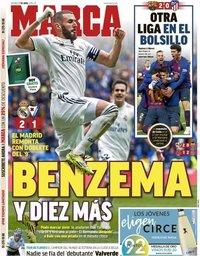 capa Jornal Marca de 7 abril 2019