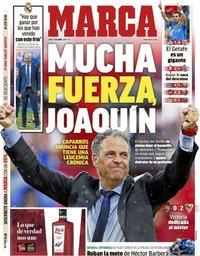 capa Jornal Marca de 8 abril 2019