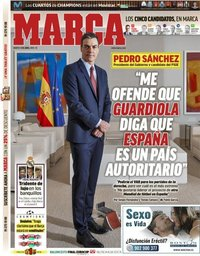 capa Jornal Marca de 9 abril 2019