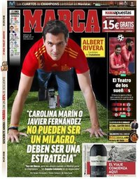 capa Jornal Marca de 10 abril 2019