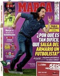 capa Jornal Marca de 11 abril 2019