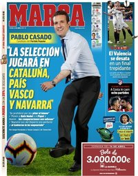 capa Jornal Marca de 12 abril 2019