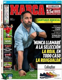 capa Jornal Marca de 13 abril 2019