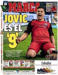 capa Jornal Marca de 14 abril 2019