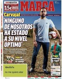 capa Jornal Marca de 15 abril 2019