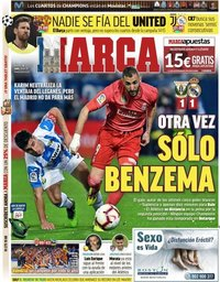 capa Jornal Marca de 16 abril 2019