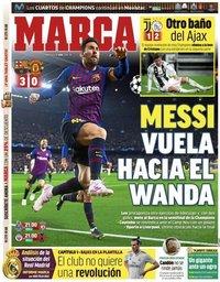capa Jornal Marca de 17 abril 2019