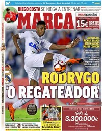 capa Jornal Marca de 19 abril 2019
