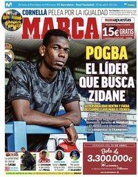 capa Jornal Marca de 20 abril 2019