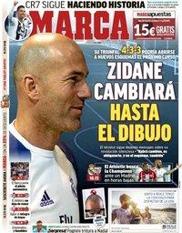 capa Jornal Marca de 21 abril 2019