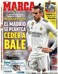 capa Jornal Marca de 22 abril 2019