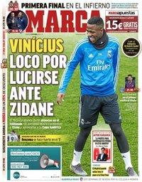 capa Jornal Marca de 23 abril 2019