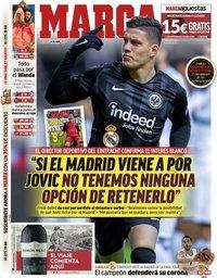 capa Jornal Marca de 24 abril 2019