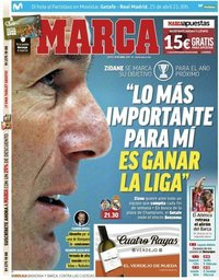capa Jornal Marca de 25 abril 2019
