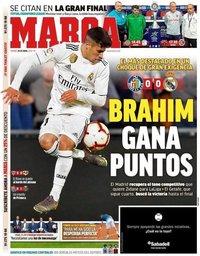capa Jornal Marca de 26 abril 2019