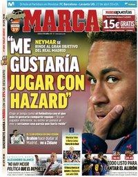 capa Jornal Marca de 27 abril 2019