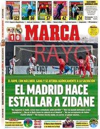 capa Jornal Marca de 29 abril 2019