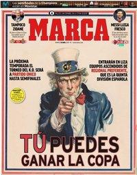 capa Jornal Marca de 30 abril 2019