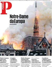 capa Público de 16 abril 2019