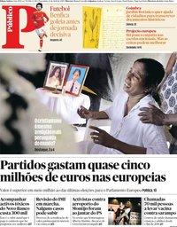 capa Público de 23 abril 2019