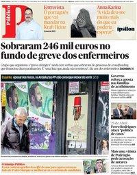 capa Público de 26 abril 2019