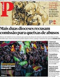 capa Público de 28 abril 2019