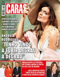 capa Revista Caras de 11 abril 2019