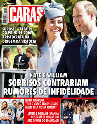 capa Revista Caras de 25 abril 2019