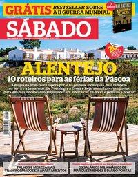 capa Revista Sábado de 4 abril 2019