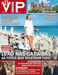 capa VIP de 27 abril 2019