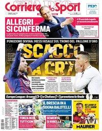 capa Corriere dello Sport de 3 maio 2019