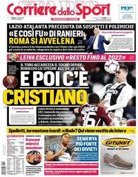 capa Corriere dello Sport de 4 maio 2019