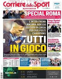 capa Corriere dello Sport de 5 maio 2019