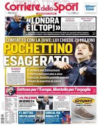 capa Corriere dello Sport de 11 maio 2019
