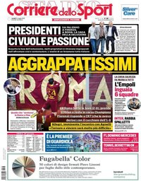 capa Corriere dello Sport de 13 maio 2019