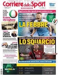 capa Corriere dello Sport de 15 maio 2019