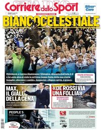 capa Corriere dello Sport de 16 maio 2019
