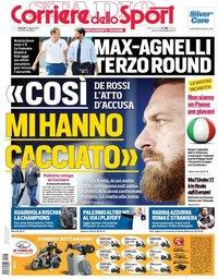 capa Corriere dello Sport de 17 maio 2019